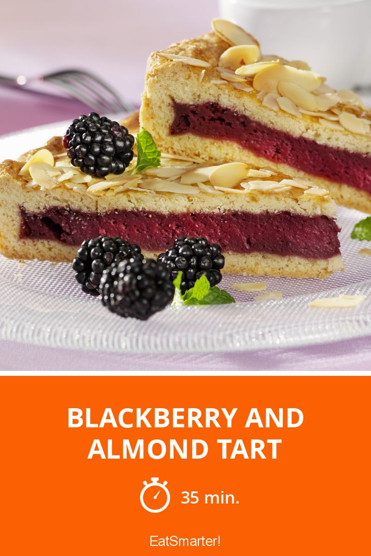 Blackberry and Almond Tart