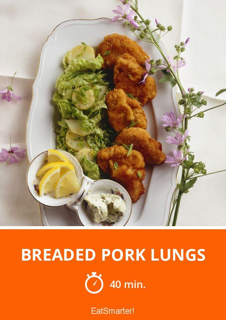 Breaded Pork lungs