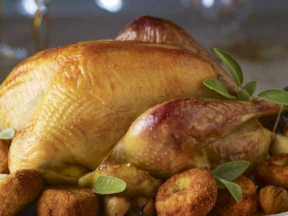 Roast turkey: The centerpiece of any Thanksgiving meal